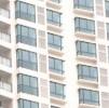 Vacant apartments, shanghai detail